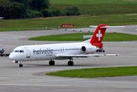 HB-JVI @ LSZH - Fokker F-100 [11325] (Helvetic Airways) Zurich~HB 31/08/14