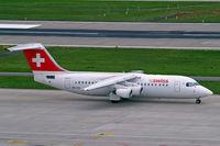 HB-IXO @ LSZH - BAe 146RJ-100 [E3284] ( Swiss European Air Lines) Zurich~HB 31/08/2014