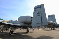 81-0991 @ LFOT - Fairchild Republic A-10A Thunderbolt II, Static display, Tours-St Symphorien Air Base 705 (LFOT-TUF) Open day 2015 - by Yves-Q