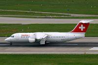 HB-IXQ @ LSZH - BAe 146RJ-100 [E3282] (Swiss European Air Lines) Zurich~HB 31/08/2014