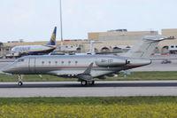 9H-VCI @ LMML - Bombardier BD-100 Challenger 9H-VCI Vistajet - by Raymond Zammit