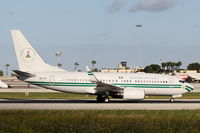 5N-FGT @ LMML - B737-700 5N-FGT Government of Nigeria - by Raymond Zammit