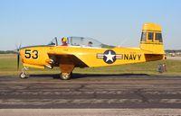 N53BR @ LAL - Beech T-34