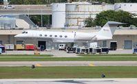N57EL @ FLL - Gulfstream G450