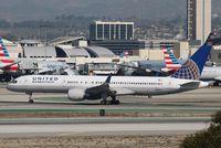N512UA @ KLAX - Boeing 757-200