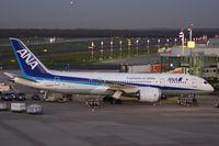 JA827A @ EDDL - At Terminal A gate - by Günter Reichwein