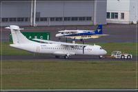 D-ANFE @ EDDR - ATR 72-202F - by Jerzy Maciaszek