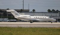 N96RX @ MIA - Citation 750
