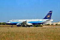 I-PEKF @ LIBD - Airbus A320-214 [1322] (Volare Airlines) Bari-Palese Macchie~I 14/07/2004