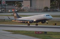 N132HQ @ FLL - USAirways E175