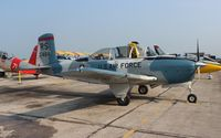 N134DR @ YIP - T-34 Mentor - by Florida Metal