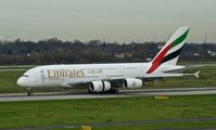 A6-EDZ @ EDDL - Emirates, is here shortly after landing at Düsseldorf Int'l(EDDL) - by A. Gendorf