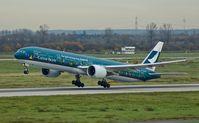 B-KPB @ EDDL - Cathay Pacific (Spirit Of Hong Kong cs.), is here lifting off at Düsseldorf Int'l(EDDL) - by A. Gendorf