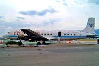 N9498 @ LSGG - Douglas DC-7C [45187] (Fire Service) Geneva~HB 23/07/2004
