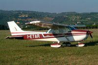 I-ETAR @ LIPN - Cessna 172M Skyhawk [172-66658] Verona-Boscomantico~I 17/07/2004. USA registration only cancelled by the FAA in 2014.