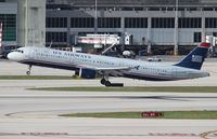 N196UW @ MIA - US Airways