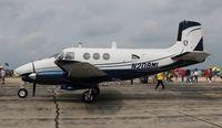 N208ML @ YIP - Beech Queen Air