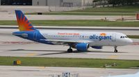 N215NV @ FLL - Allegiant Air