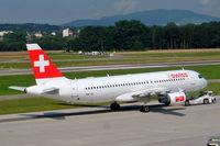 HB-IJL @ LSZH - Airbus A320-214 [0603] (Swiss International Air Lines) Zurich~HB 22/07/2004