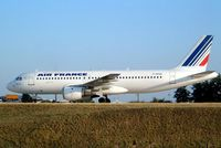 F-GFKD @ LFPG - Airbus A320-111 [0014] (Air France)  Paris-Charles De Gaulle~F 24/07/2004