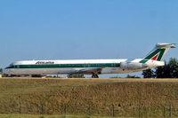 I-DATG @ LFPG - McDonnell-Douglas DC-9-82 [53225] (Alitalia) Paris-Charles De Gaulle~F 24/07/2004