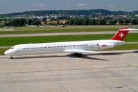 HB-INV @ LSZH - McDonnell-Douglas DC-9-83 [49359] (Odette Airways) Zurich~HB 22/07/2004