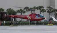 N280BR - Enstrom 280FX at Heliexpo