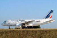 F-GRHL @ LFPG - Airbus A319-111 [1201] (Air France) Paris-Charles De Gaulle~F 24/07/2004