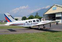 D-GLLW @ LSZL - Piper PA-34-200T Seneca II [34-8070170] Locarno~HB 21/07/2004