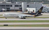 N304UP @ MIA - UPS 767-300 - by Florida Metal