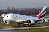 A6-EON @ EDDL - Taking off - by Günter Reichwein
