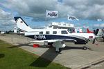 D-FIPA @ EGBK - at Aeroexpo 2015 - by Chris Hall