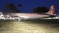 N381AA @ EVB - DC-7B