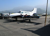 C-FFAP @ SZP - Canadian 1967 Cessna 402 @ Santa Paula, CA for overhaul before going on US Register as N402DR - by Steve Nation