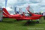 G-GLSA @ EGBK - at Aeroexpo 2015 - by Chris Hall