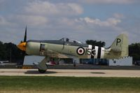 N15S @ KOSH - Hawker Sea Fury FB.11