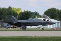 11-5025 @ KOSH - Lockheed Martin F-35A - by Mark Pasqualino