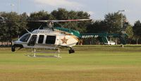 N407LM - Orange County Sheriff Bell 407 at American Heroes Air Show Oveido Mall Florida