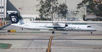 N409QX @ LAX - Alaska Dash 8