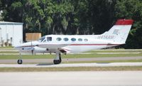 N414AW @ LAL - Cessna 414 - by Florida Metal