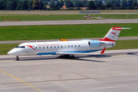 OE-LCM @ LSZH - Canadair CRJ-200LR [7205] (Austrian Arrows) Zurich~HB 22/07/2004