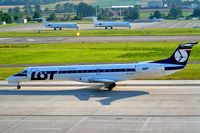 SP-LGD @ LSZH - Embraer ERJ-145EP [145244] (LOT Polish Airlines) Zurich~HB 22/07/2004