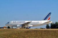 F-GRHR @ LFPG - Airbus A319-111 [1415] (Air France) Paris-Charles De Gaulle~F 24/07/2004