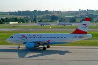 OE-LDC @ LSZH - Airbus A319-112 [2262] (Austrian Airlines) Zurich~HB 22/07/2004