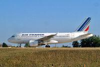 F-GRHM @ LFPG - Airbus A319-111 [1216] (Air France) Paris-Charles De Gaulle~F 24/07/2004