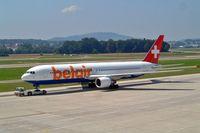 HB-ISE @ LSZH - Boeing 767-3Q8ER [27600] (Belair Airlines) Zurich~HB 22/07/2004