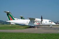 D-CPRT @ LSZB - Dornier Do.328-120 [3042] (Alitalia Express/Minerva) Bern Belp~HB 23/07/2004 - by Ray Barber