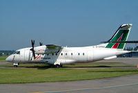 D-CPRW @ LSZB - Dornier Do.328-100 [3097] (Alitalia Express/Minerva) Bern Belp~HB 23/07/2004 - by Ray Barber