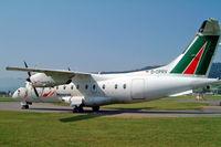 D-CPRV @ LSZB - Dornier Do.328-110 [3093] (Alitalia Express/Minerva) Bern Belp~HB 23/07/2004 - by Ray Barber
