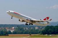 HB-IWE @ LSZH - McDonnell-Douglas MD-11 [48447] (Swiss International Air Lines) Zurich~HB 22/07/2004